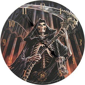 MC - Orologio da parete con motivo Final Verdict di Anne Stokes, 33 cm