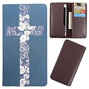 DooDa - For Blackberry 9720 PU Leather Designer Fashionable Fancy Case Cover Pouch With Card & Cash Slots & Smooth Inner Velvet