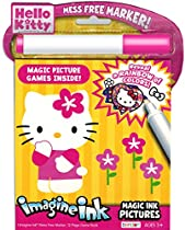 Hello Kitty Imagine Ink Book