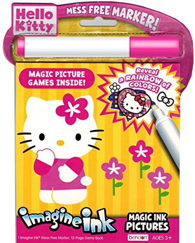Hello Kitty Imagine Ink Book