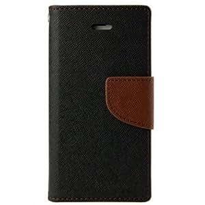 PKSTAR Flip Cover Case for Samsung Galaxy Note 3 Neo (Brown)