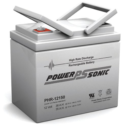 Power-Sonic 12V 129W/Cell Ups Battery - Phr-12150