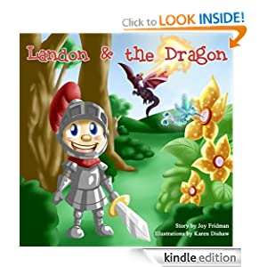 children's book: Landon and the Dragon (Adventures for Children's book collection)