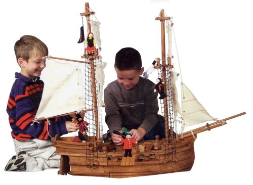 Maxim Wooden Captain Jack's Cove Deluxe Venture Ship with Figures & Accessories - Buy Maxim Wooden Captain Jack's Cove Deluxe Venture Ship with Figures & Accessories - Purchase Maxim Wooden Captain Jack's Cove Deluxe Venture Ship with Figures & Accessories (Maxim, Toys & Games,Categories)