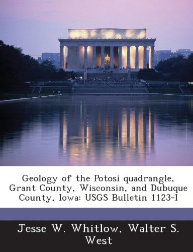 Geology of the Potosi Quadrangle, Grant County, Wisconsin, and Dubuque County, Iowa: Usgs Bulletin 1123-I