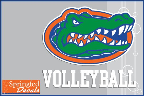 Florida Gators Gymnastics W/ Gator Head Logo #2 Vinyl Decal Car Truck Window Uf Sticker