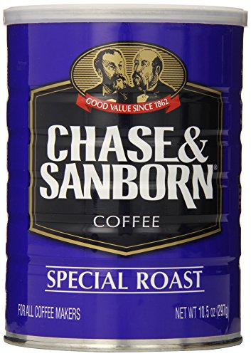 Chase & Sanborn Coffee Special Roast Ground, 10.5 Ounce (Chase And Sanborn Coffee compare prices)