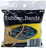 A&W Products Rubberbands Assorted Color and Size (35020.P)