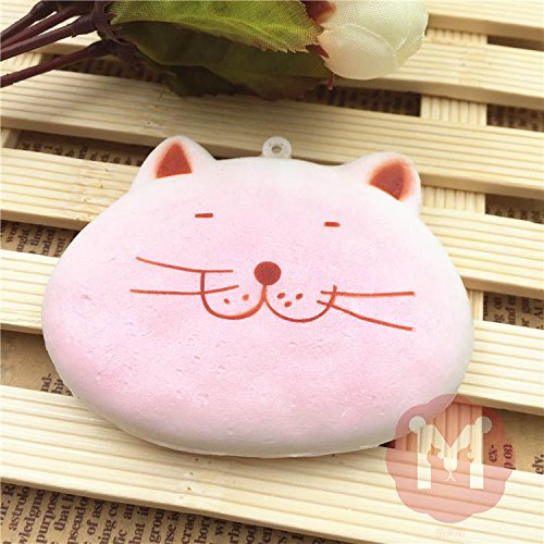 Squishy Toys Colorful Kawaii Cat-Shape Cute Animal Cookies Bread Decor Cellphone Bag Straps (Jelly At Lamb compare prices)