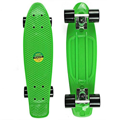 senmi-mini-skateboard-complet-en-plastique-559-cm-color-style-simple-avec-7-couleurs
