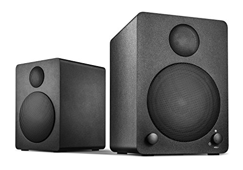 Wavemaster-Cube-mini-Regal-Lautsprecher-System-36-Watt-mit-Bluetooth-Streaming-Aktiv-Boxen-Nutzung-fr-TVSmartphoneTablet-schwarz-66340