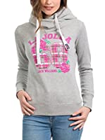 JACK WILLIAMS Sudadera con Capucha (Gris)
