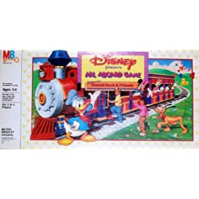 Disney All Aboard Train Board Game!