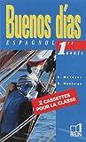 echange, troc Elisabeth Mazoyer, Reynald Montaigu, Jean-Patrick Mazoyer - Buenos dias : 4e LV2, pour la classe (coffret 2 cassettes)
