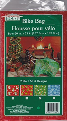 Bicycle (Bike) Christmas Gift Bag - Assorted (Qty 1) 60 x 72 inches