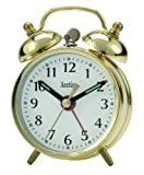 Acctim Mini-Bell Alarm Clock - Brass