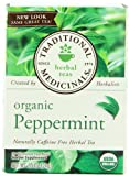 Traditional Medicinals Organic, Peppermint, 16-Count (Pack of 6)