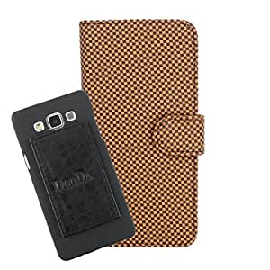 DooDa PU Leather Wallet Flip Case Cover With Card & ID Slots For Videocon A45 - Back Cover Not Included Peel And Paste