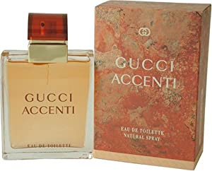 Accenti By Gucci For Women. Eau De Toilette Spray 3.4 Ounces