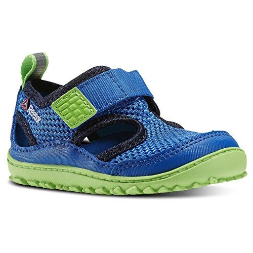 Reebok Ventureflex Sandal III, Scarpe primi passi bambini Multicolore Azul / Verde / Negro (Blue Sport/Faux Indigo/Solar Green/White) 26