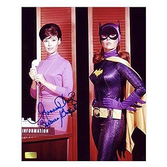 Yvonne Craig Autographed 8x10 Batgirl Transformation Photo at Amazon's