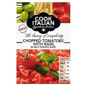 Koch italienisch gehackte tomaten basilikum in rich for Koch italienisch