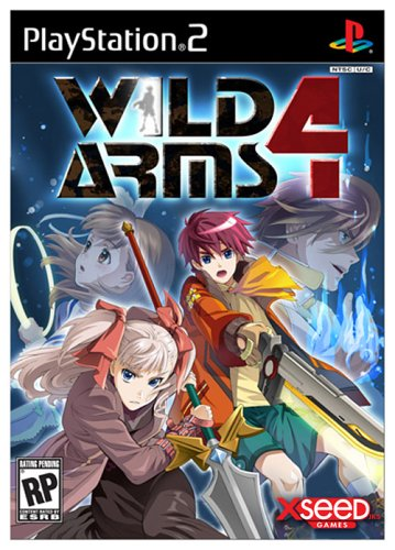 Wild Arms 4 - Playstation 2 front-323576