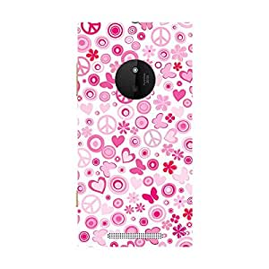 Garmor Designer Silicone Back Cover For Nokia Lumia 830