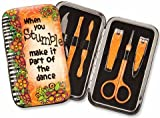 Brownlow Suzy Toronto Fashion Manicure Set with Fun Saying