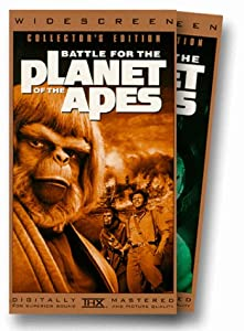 Battle for the Planet of the Apes [VHS] [Import allemand]