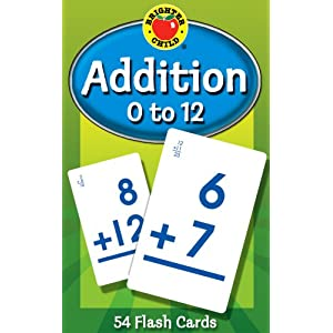 Addition 0 to 12 (Brighter Child Flash Cards)