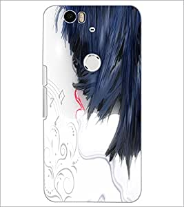 PrintDhaba Abstract Image D-4504 Back Case Cover for HUAWEI NEXUS 6P (Multi-Coloured)
