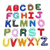  A Z Wooden Fridge Magnets Kid toys Education over 80% off