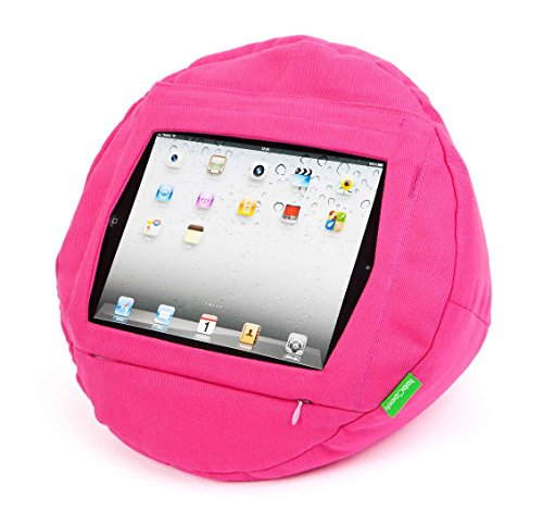 Tabcoosh To Suit Ipads - Pretty In Pink. Simply, Tablet Comfort. Your Ipad Is Secure And Cannot Fall Out. Essentially, An Ipad Bean Bag, Cushion, Pillow Accessory Kinda Thing That Holds Your Ipad Securely In Place. More Than A Traditional Stand, Tabcoosh