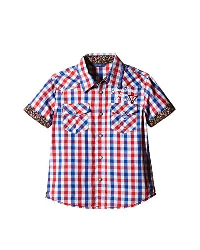 Guess Camisa Niño Ss Multicolor