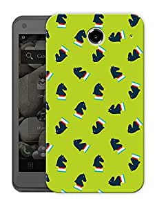 """Chess Horse Pattern Printed Designer Mobile Back Cover For """"Lenovo S880"""" By Humor Gang (3D, Matte Finish, Premium Quality, Protective Snap On Slim Hard Phone Case, Multi Color)"""