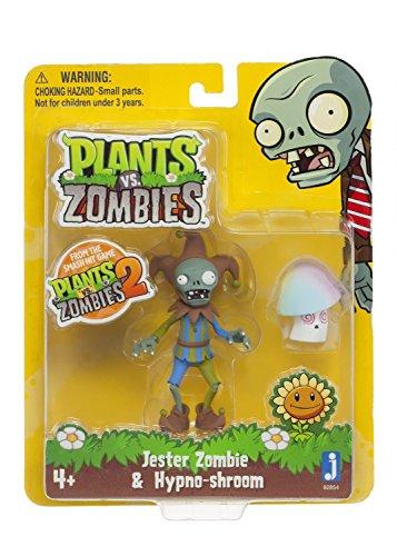 "Plants vs Zombies 3"" Jester Zombie with Hypnoshroom Action Figure"