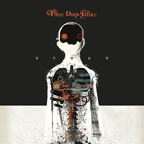 CD : Three Days Grace - Human (CD)
