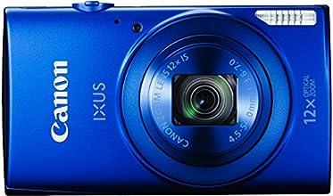 """Canon Ixus 170 Appareil photo numérique compact 20 Mpix Écran LCD 2,7"""" Zoom optique 12X Bleu"""
