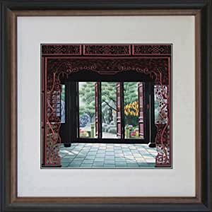 King silk art 100 handmade embroidery feng for Gifts for landscape architects