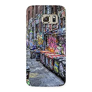 Enticing Color Art Streets Multicolor Back Case Cover for Samsung Galaxy S6 Edge Plus