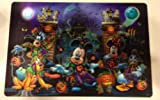 Disney Park Mickey Mouse and Pals Halloween Lenticular Placemat NEW