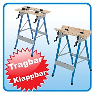 mobile werkbank arbeitstisch 820 mm col ti26018 top preis test werkbank test. Black Bedroom Furniture Sets. Home Design Ideas