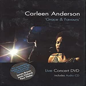 Carleen Anderson - Grace and Favours Live [With CD] [DVD]