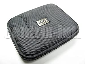 Original Western Digital Black Hard Case For My Passport. Transport your Passport drives in style by Western Digital
