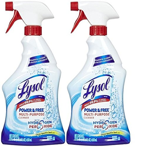Lysol Multi-Purpose Cleaner w/ Hydrogen Peroxide - Citrus Sparkle Zest - 22 oz - 2 pk (Cleaning With Hydrogen Peroxide compare prices)