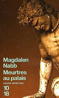 Meurtres au palais par Magdalen Nabb
