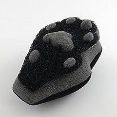 キッチンスポンジ 肉球(ブラック)