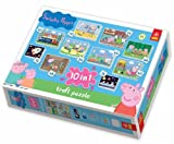 Peppa Pig: 10 Jigsaws/Puzzles in a box