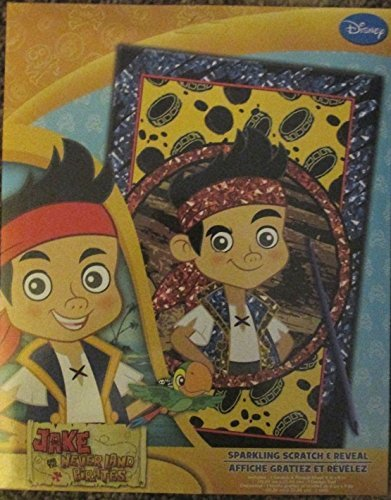 Jake the Pirate Sparkling Scratch & Reveal Coloring Activity Set